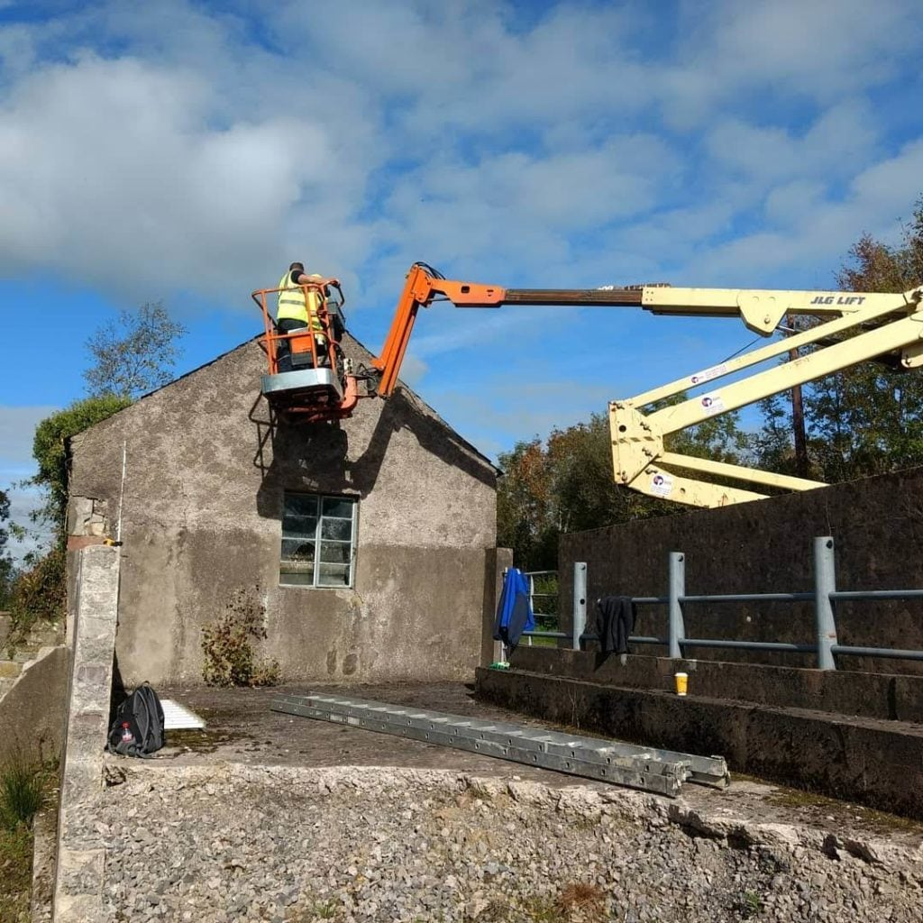 Bat roost relocation under licence